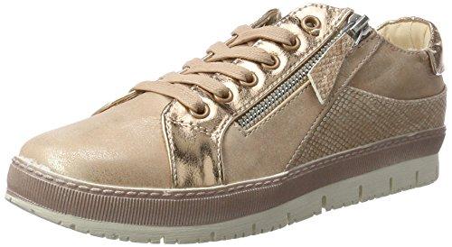 Dockers by Gerli 35ne217-686760, Sneakers Hautes Femme Rose (Rosa 760)