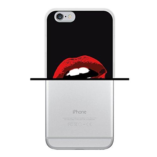 iPhone 6 6S Hülle, WoowCase Handyhülle Silikon für [ iPhone 6 6S ] Mondrian Stil Rechtecke Handytasche Handy Cover Case Schutzhülle Flexible TPU - Transparent Housse Gel iPhone 6 6S Transparent D0037