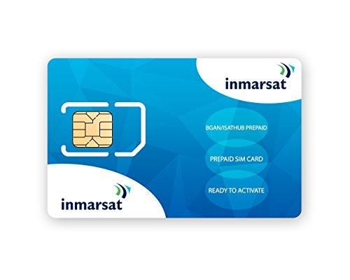 Tarjeta SIM de prepago Inmarsat BGAN  Sin tiempo de uso incluido
