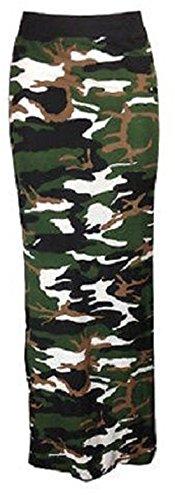 Funky Fashion Shop Damen Rock Camouflage Khaki