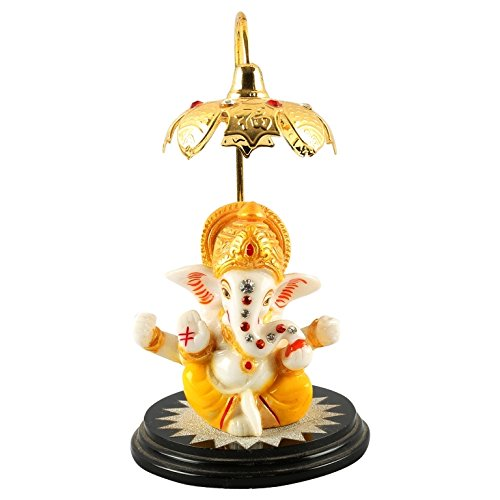 Aica Gifts Microfiber Lord Ganpati Ganesha Murti Idol for Car(Multicolour) 41ehno8m 2B 2BL
