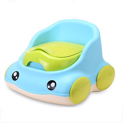 Petit Pot, bébé, Toilette, Enfant, bébé surdimensionné Poids de 2 à 9 Ans (Couleur : Bleu)