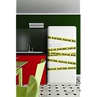 iDesign CRIME WALL STICKERS CRIME, PVC, MULTICOLORE - Wall Sticker