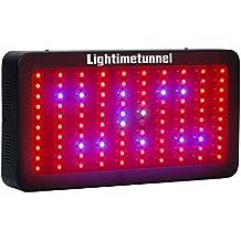 Lightimetunnel 300w Led para Plantas Lampara Grow Light Luces Led Crecimiento UV IR para Interior Grow Box Vegetal Floracion  3w*100
