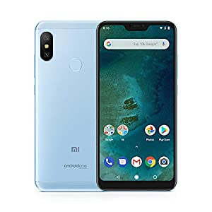 "Xiaomi Mi A2 Lite - Smartphone 5.84"" (4G, Snapdragon 625, RAM 3 GB, memory 32 GB, GBal chamber 12+5 MP, Android) Color blue"