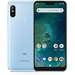 """Xiaomi Mi A2 Lite - Smartphone de 5.84"""" (4G, Snapdragon 625, RAM 3 GB, memory 32 GB, GBal chamber 12+5 MP, Android) Color blue"""