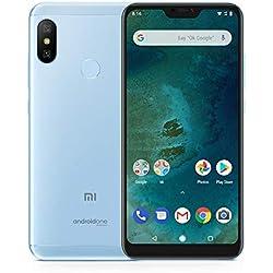 "Xiaomi Mi A2 Lite - Smartphone de 5.84"" (4G, Snapdragon 625, RAM de 3 GB, Memoria de 32 GB, cámara Dual de 12+5 MP, Android) Color Azul"