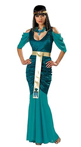 ck Ägyptische Königin Cleopatra Harem Kostüm Lange Kleid Größe 36-38 ()