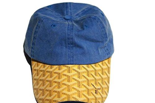 goyard-dad-bord-casquette-de-baseball-bleu-jaune