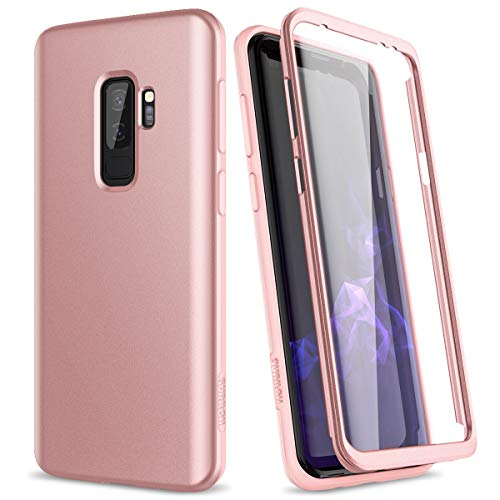 SURITCH Funda Samsung Galaxy S9 Plus Silicona 360