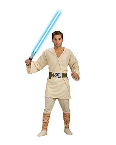 s Luke Skywalker Kostüm One Size (Star Wars Luke Skywalker Lichtschwert)