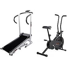 Body Maxx Lifeline Fitness Combo Manual Treadmill & Exercise Bike
