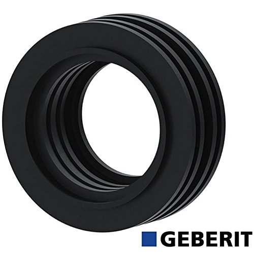 Level Flush Pipe (Geberit Internal Low Level Flush Pipe Rubber cone Seal for 40mm Concealed Bend 119.668.00.1 by Geberit)