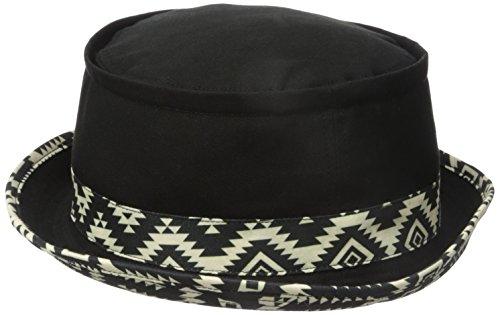 san-diego-hat-co-mens-aztec-reversible-bucket-black-one-size