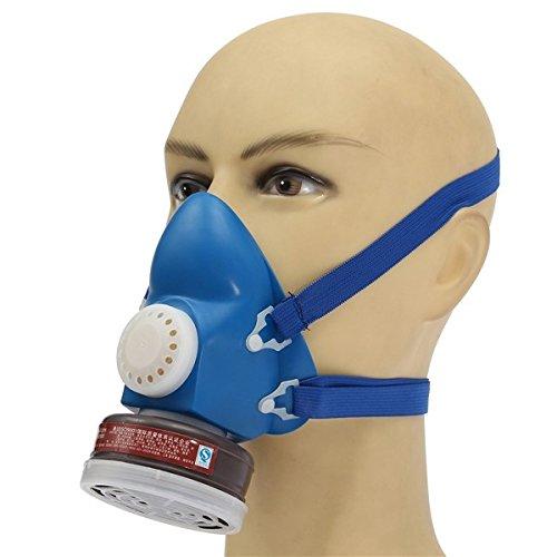 mark8shop selbstansaugende Filter Kartusche Hälfte Gas Bio Vapor Maske Atemschutzmaske Single Tank