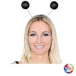 Aec Aptafêtes-Invernadero Tete Antena Bolas Purpurina