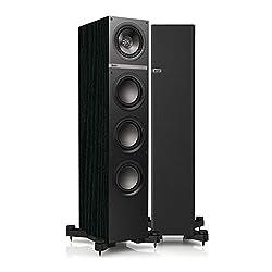 KEF Q500B Floor Standing Loudspeaker (Black Ash)