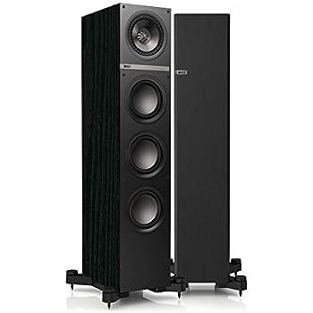 kef floor standing speakers. q500 130 watt floorstanding speakers in black oak with bass radiators kef floor standing o