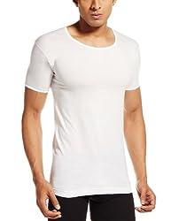 VIP Mens Cotton Vests (Pack of 2) (8901377963085) (BONUS CLASSIC-RNS-85-White)