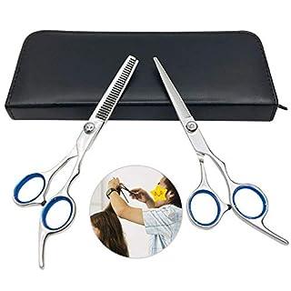 SUNTATOP Friseurscheren Set 6''Effilierschere Set Salon Haar Schneidwerkzeug Kits
