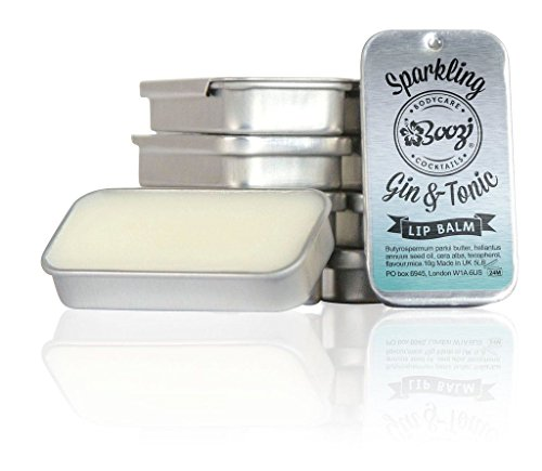 boozi Body Care Sparkling Gin & Tonic Lip Balm 10 g