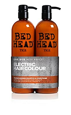 BED HEAD by TIGI Colour Goddess Tween Duo Oil Infused Shampoo & Conditioner for Brunette Hair 2x750 ml by Tigi Bed Head