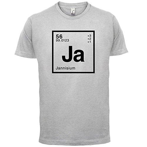 Jannis Periodensystem - Herren T-Shirt - 13 Farben Hellgrau