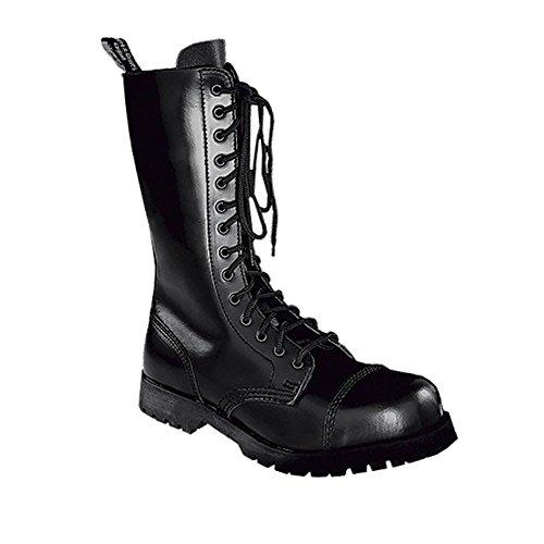 Boots & Braces 14-Loch (Schwarz) (D 42/UK 8)