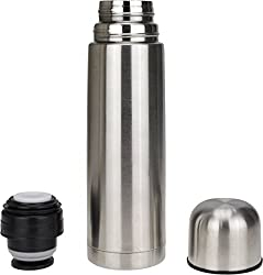 AVMART Double Walled Hot & Cold Vacuum Thermosteel 500 Ml Flask (Pack of 1, Silver) 500 Bottle
