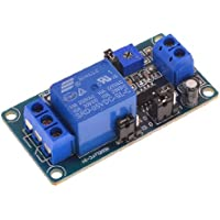 sourcingmap® DC 5V 1 canale circolo tempo ritardo relè modulo asse con indicatore