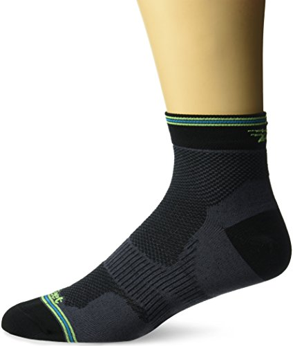 DeFeet Socken Trail – Fkt, unisex, Black/Blue/Green (Defeet Blau Socken)
