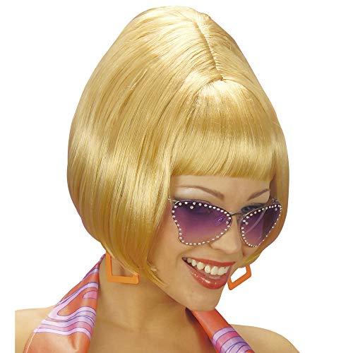 Perücke Party Girl 70er (Halloween-kostüm-ideen Blonde Für Frauen)