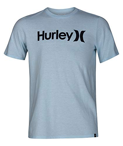 Hurley Jungen T-shirt (Hurley BQ1504 Boy's Premium One and Only Solid Tee Short Sleeve Shirt)
