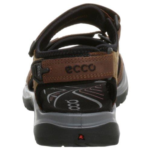 ECCO Offroad, Sandali Sportivi Donna Nero (Braun (Bison/Mineral/Bl. O.Nub/Nub/Text52524))