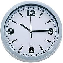 kela 17161 Paris - Reloj de pared con esfera (plástico, 20 cm),