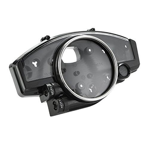 CICMOD Hülle für Motorrad Tachometer Drehzahlmesser Geschwindigkeitsmesser Speedometer Tachometer Gauge Case Cover für Yamaha YZF R1 2004-06 R6 2006-11