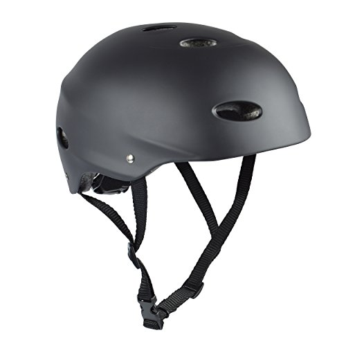 Apollo Skate-Helm / Fahrradhelm - My Hood - verstellbarer Skateboard, Scooter, BMX-Helm, mit Drehrad-Anpassung geeignet für Kinder, Erwachsene - Größe: L für...