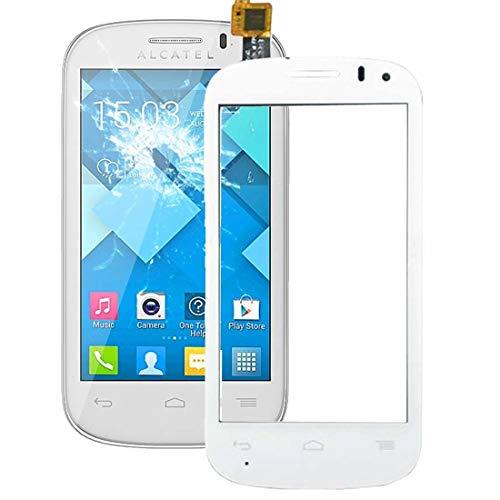 Godlikematealliance Touch Panel Repaire & Ersatzteile für Alcatel One Touch POP C3 / OT-4033 / 4033D / 4033X (Schwarz) (Farbe : Weiß)