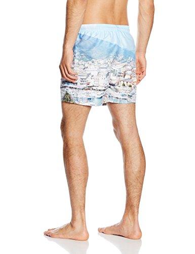Jack & Jones Fresh Short de natation technique pour homme Blanc