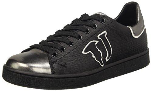 Trussardi Jeans 79S26351, Scarpe Low-Top Donna, Grigio (Gun Metal), 38 EU