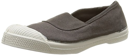 Bensimon Ten Elastique, Baskets Basses Mixte Enfant Gris (Gris 802)