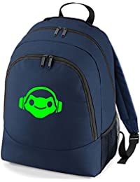 Embroidered Overwatch Lucio gamers rucksack backpack PS4 XBOX
