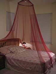 OctoRose Brand New Large Bed Canopy Maroon Color