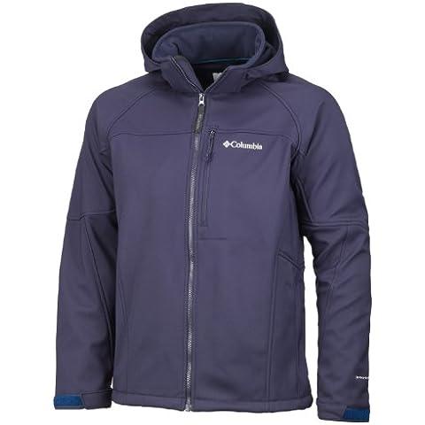 Columbia Cascade - Soft shell para hombre, tamaño S, color negro azulado