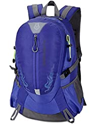GBT De Gran Capacidad De Montaña Recorrido Al Aire Libre De Nylon Impermeable Del Bolso De Hombro , Sapphire Blue,sapphire blue