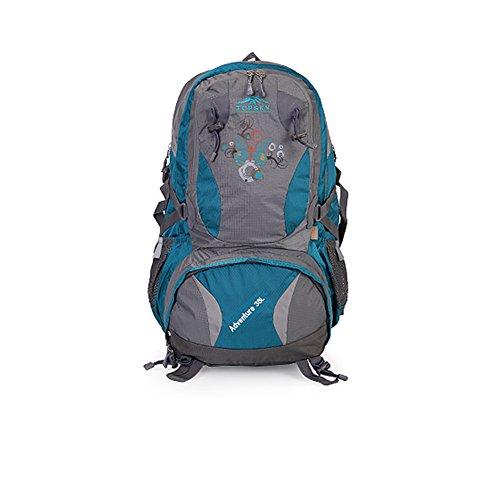 Liebhaber des Outdoor-Bergsteigen-Tasche/ Wandern Pack/Aufhellung atmungsaktiv wasserdichte Rucksack Blau