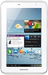 Samsung Galaxy Tab 2 P3100 3G+WIFI Tablet (17,8 cm (7 Zoll) Display, 1GHz Prozessor, 1GB RAM, 8 GB Speicher, 3,2 Megapixel Kamera, Android) weiß