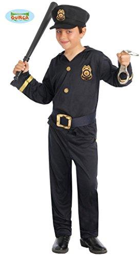 Polizei Kinderkostüm Polizisten Kostüm für Kinder Gr. 110-146, (Kinder Polizist Kostüm Für)