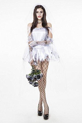 Damen-Kostüm Geisterbraut - Gr. S/M