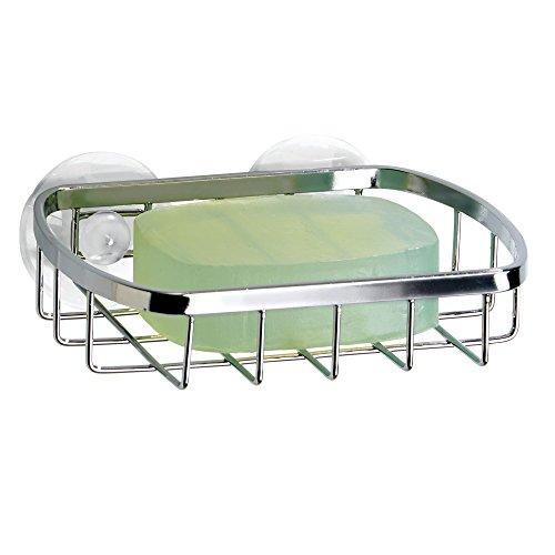 InterDesign 51820EU Portasapone a Ventosa 5x5x5 cm